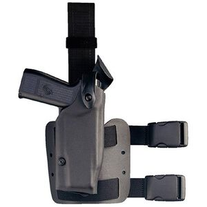 "Safariland 6004 1911 5"" with Rails and Surefire X300 SLS Tactical Holster Right Hand STX Black 6004-5340-121"