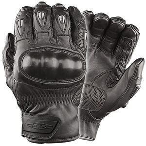 Damascus Protective Gear Vector Hard Knuckled Riot Gloves Large Black CRT50LG