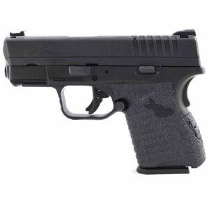 TALON Grips Springfield XD-S 9/.40/.45 Textured Rubber Low Profile Grip Black 212R