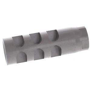 GLFA Devastator AR-15 Muzzle Brake 6.5 Grendel 5/8x24 Stainless Steel Natural Finish