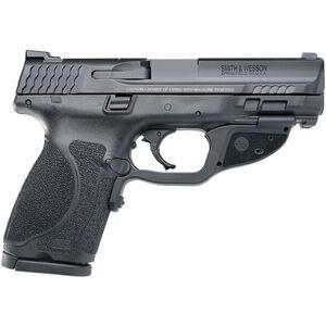 """S&W M&P40 M2.0 Compact .40 S&W Semi Auto Pistol with Crimson Trace Green Laser 5"""" Barrel 13 Rounds Black"""