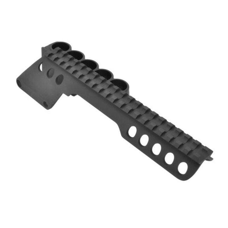 Aimtech Remington 1100/1187 12 Gauge Scope Mount With Shotshell Carrier Black ASM-1 5S