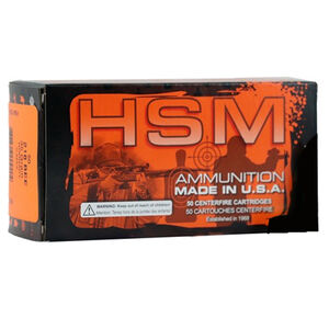 HSM .218 Bee Ammunition 50 Rounds 40 Grain Sierra Blitz King Projectile