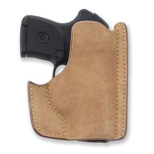 Galco Front Pocket GLOCK 26/27/33 Ambidextrous Leather Natural PH286
