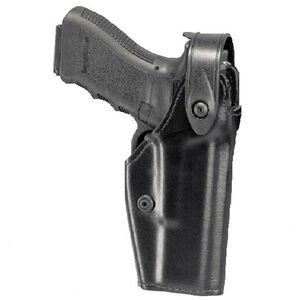 Safariland 6280 SLS Mid-Ride GLOCK 17, 22 Level 2 Retention Duty Holster, Right Hand, Hi Gloss Black