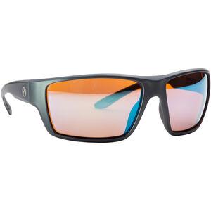 Magpul Terrain Shooting Glasses Gray Frame Polarized Anti-Reflective Rose/Blue Mirror Lenses