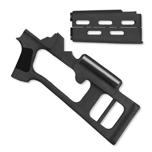 ATI AK-47 Stock Fiberforce Dragunov AK-90 Black Ventilated Forend Drop In Installation Ambidextrous