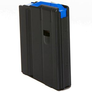 C Products AR-15 Magazine 6.5 Grendel 10 Rounds Stainless Steel Black 1065041176