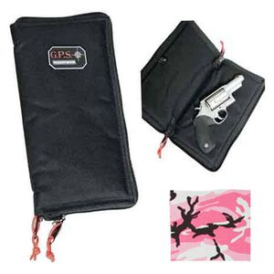 "G Outdoors G.P.S. Pistol Sleeve Large 12"" Nylon Pink Camo GPS-1265PSPK"