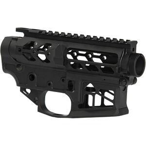 Iron City Rifle Works Berserker Lite AR-15 Skeletonized Stripped Receiver Set 5.56 NATO Lightweight Precision Engineering Aluminum Black