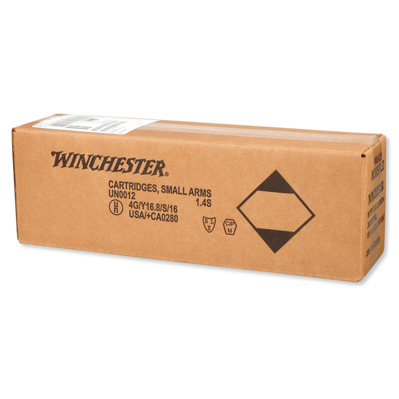 Winchester Train and Defend .38 Special Ammunition 200 Rounds, JHP, 130 Grains
