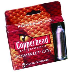 Crosman Copperhead CO2 Powerlets Stainless Steel 12 Grams 231B