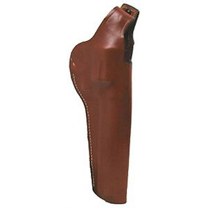 """Hunter High Ride Holster with Thumb Break S&W 629 6"""" Belt Holster Right Hand Leather Brown 5027"""