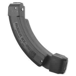 Ruger 10/22 BX-25x2 Series Magazine .22 LR 50 Total Rounds Polymer Construction Matte Black Finish