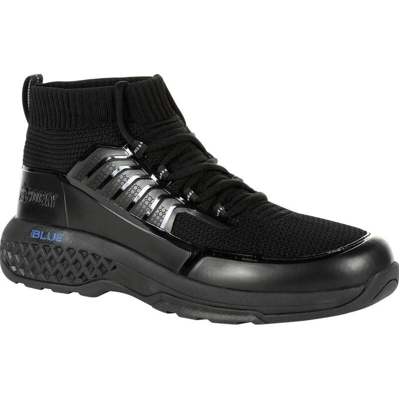 """Rocky International Code Blue 5"""" Knit Public Service Boot Size 11.5 Black"""