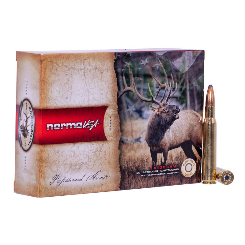 Norma USA Professional Hunter 7mm Weatherby Magnum Ammunition 20 Rounds 156 Grain Oryx 3085fps