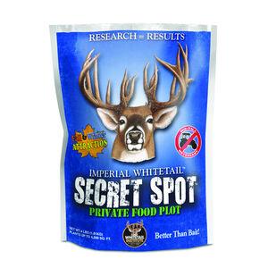 Whitetail Institute Secret Spot Seed Blend for Deer Food Plots 4lbs 4500sq Feet Treatment