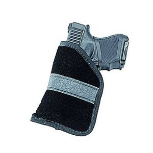 Uncle Mike's Ambidextrous Inside-the-Pocket Holster Sub-Compact 9mm & .40 Autos Size 4 Polymer Suede Black