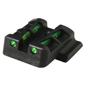 HiViz Litewave Interchangeable Fiber Optic Rear Sight For GLOCK 9/40/357 GLLW15