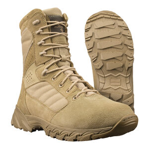 "Original S.W.A.T. Men's Altama Foxhound SR 8"" Tan Boot Size 7.5 Regular 365802"