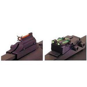 "TRUGLO 1/4"" Pro-Series Magnum Gobble Dot Fiber Optic Shotgun Sights Contrasting Colors"