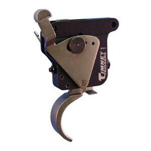 Timney Remington Model 7 Match Grade Adjustable Trigger with Safety Nickel Finish 501
