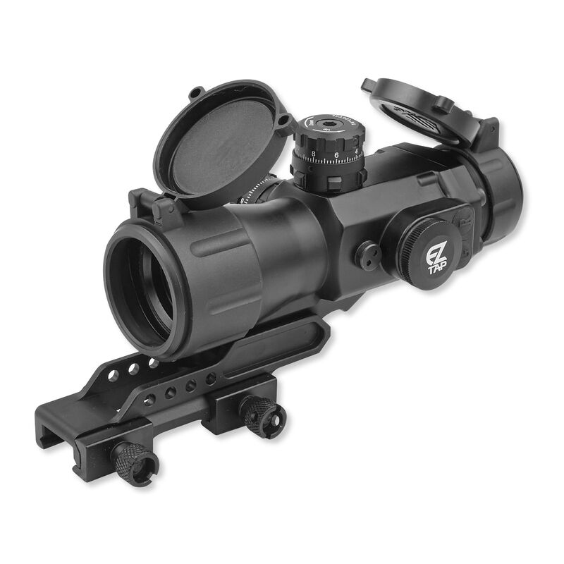 Leapers UTG AccuShot 4x32 Compact Prismatic T4 Scope 36 Color Illuminated  T4 Mil-dot Reticle Black SCP-T4IEMDQ