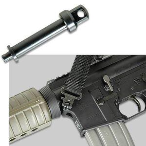 KNS Precision AR-15 Push Button Pivot Pin Sling Mount Steel Black PBPIVOTSTD
