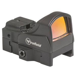Firefield Impact Mini Reflex Sight 5 MOA Red Dot 45 Degree Kit Aluminum Black FF26021K