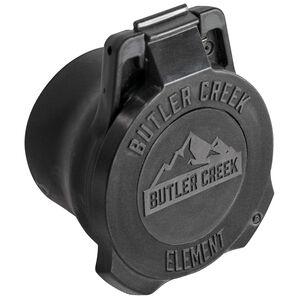Butler Creek Element Scope Cover Objective Flip-Open Changeable Lenses fits 60-65mm Polymer Black