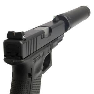 XS Sight Systems DXT Standard Dot Suppressor Height Night Sights GLOCK 20/21/29/30/30S/36/37/41 Green Tritium Front/Tritium Rear Matte Black