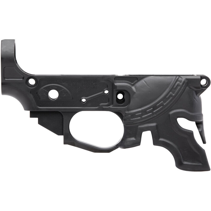Spike's Tactical Rare Breed Spartan AR-15 Stripped Lower Receiver Multi Caliber Marked Aluminum Black