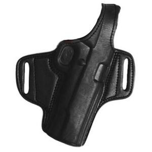 Tagua BH1 Thumb Break Belt Holster GLOCK 17/22/31 Right Hand Leather Black BH1-300