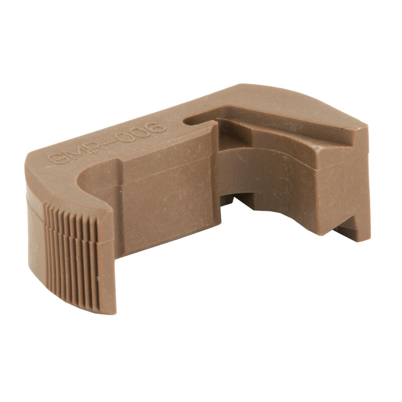 TangoDown Vickers Tactical GLOCK 43 Extended Magazine Release Polymer Tan