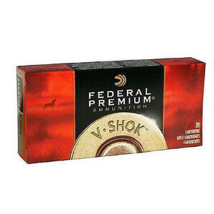Federal .204 Ruger Ammunition 20 Rounds Nosler BT 40 Grains