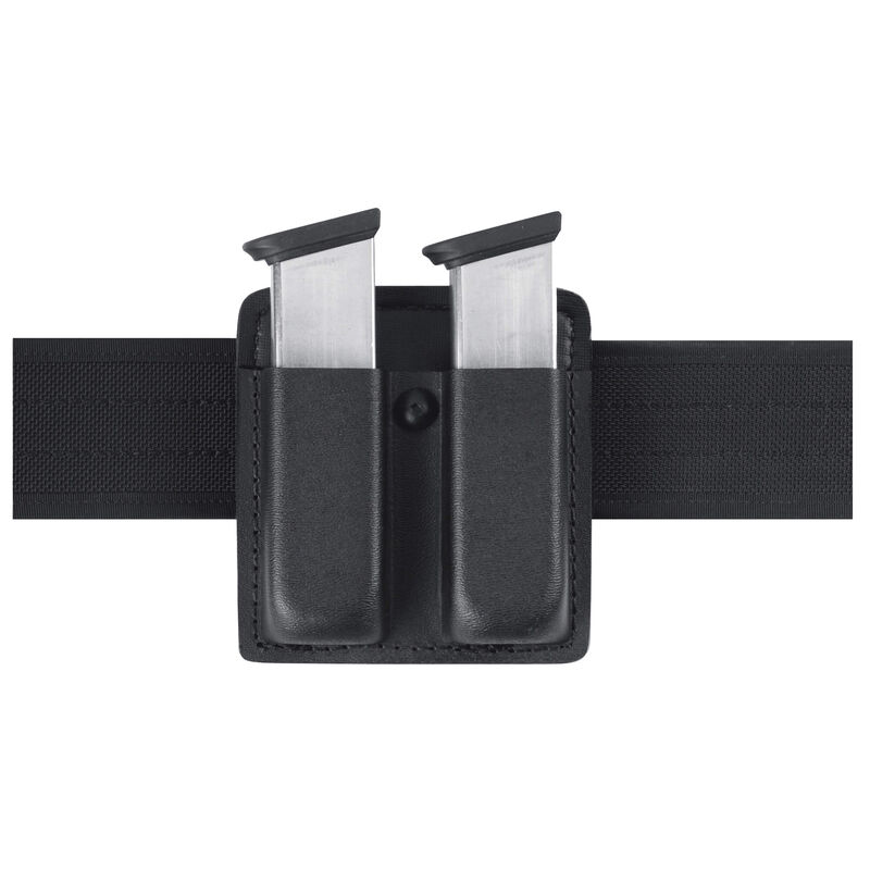 Safariland Model 73 Double Magazine Pouch 9mm/40 Double Stack STX Tactical Black