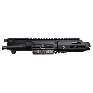 """Stern Defense AR-15 Pistol 9mm Luger Complete Upper Receiver Assembly 4"""" Barrel Free Float M-LOK Hand Guard Matte Black"""