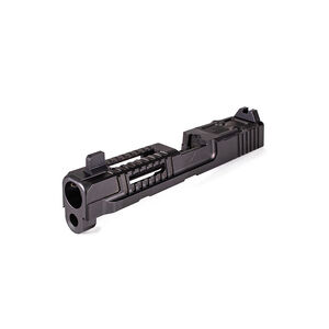 Faxon Full Size M&P9 Hellfire Slide with RMR Optic Cut, Assembled, Suppressor Sights