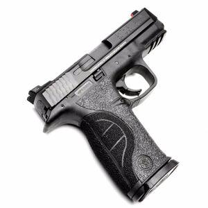 TALON Grips Adhesive Grip S&W M&P Full Size 9/40 CTC/Pro/C.O.R.E.Backstrap Rubber Black 710R