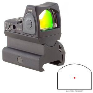 Trijicon RMR Type 2 Adjustable LED Sight 3.25 MOA Red Dot with RM34 AR-15 Mount