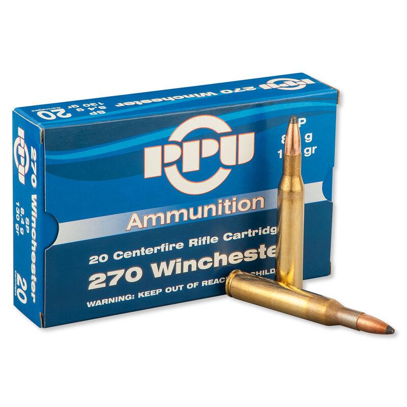 Prvi Partizan .270 Winchester Ammunition 20 Rounds SP 130 Grains PP2.6