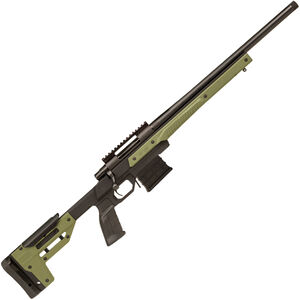 "Howa Oryx by MDT 6.5 Creedmoor Bolt Action Rifle 24"" Threaded Barrel 10 Rounds with Optics Rail OD Green Oryx Monolithic Aluminum Chassis Black Finish"