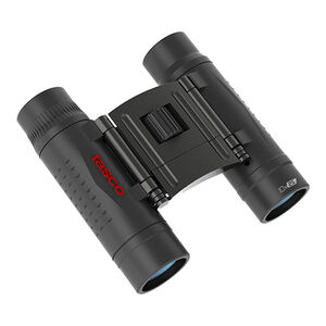 Tasco 10x25 Essentials Compact Binoculars Roof Prism Rubber Coated Black