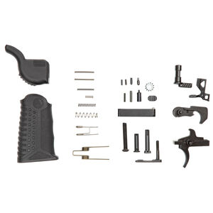 Battle Arms Development Enhanced Lower Parts Kit Package X Complete Kit Matte Black Finish