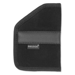 Bulldog Cases Large Inside Pocket Holster Compact Revolvers And Autos Right Hand Nylon Black BDIPL