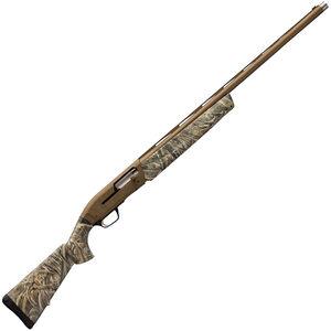 "Browning Maxus Wicked Wing Semi Auto Shotgun 12 Gauge 26"" Barrel 4 Rounds 3.5"" Chamber Composite Stock Realtree Max-5 Camo Burnt Bronze Cerakote Finish"