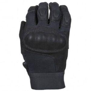 Damascus Protective Gear Nitro Hard Knuckle Gloves Leather Kevlar Black