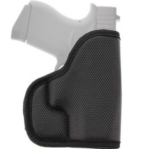 Galco STUKON-U Pocket Holster Fits GLOCK 26/27/33 and Similar Ambidextrous Nylon and Closed Foam Black