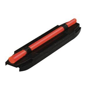 HiViz Front Sight Shotgun Magnetic Red Fiber Steel Black S400R