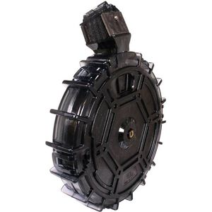 ProMag Ruger 10/22 Drum Magazine .22 Long Rifle 70 Rounds Polymer Smoke RUG-A30